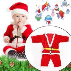 Bộ quần áo ông già Noel cho bé