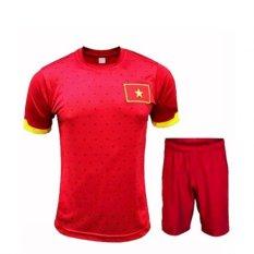 Bộ quần áo thể thao đội tuyển việt nam (Đỏ)
