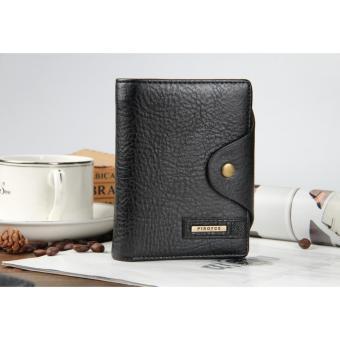 Bóp ví da thật nam mẫu đẹp cao cấp dáng đứng(màu đen)