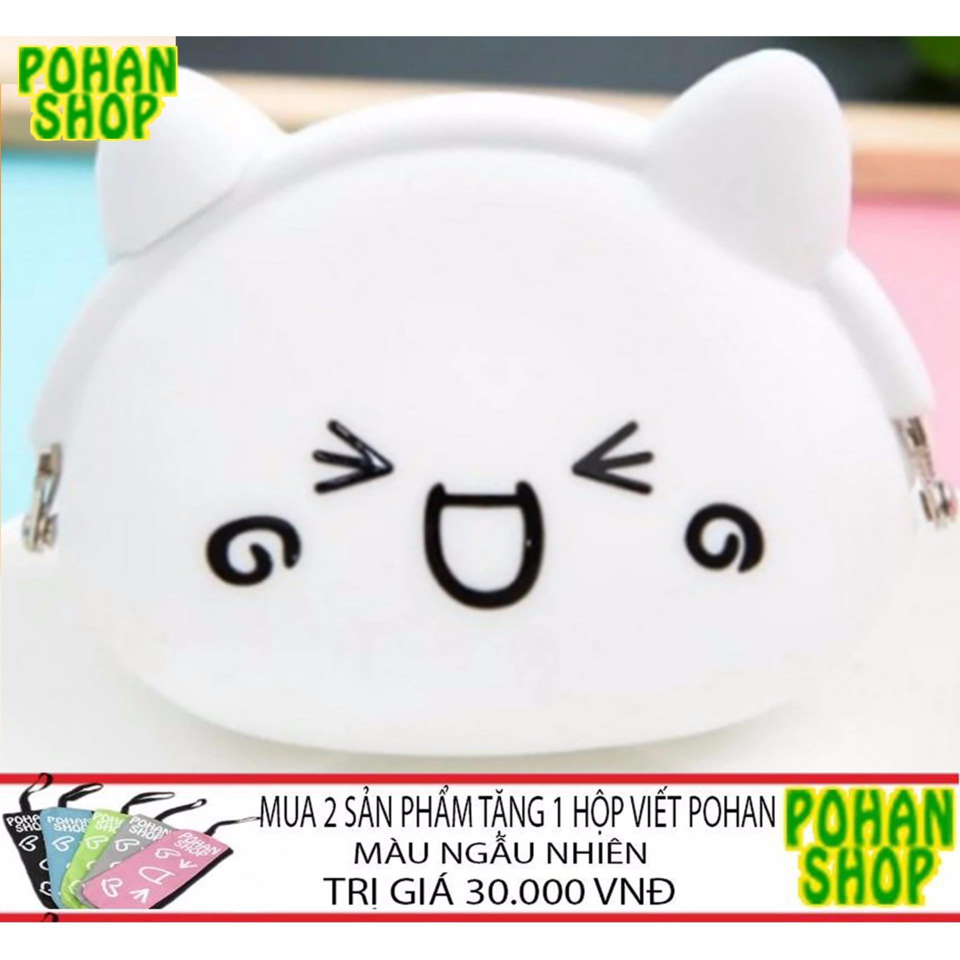 Bóp Ví Nữ Silicon Nhỏ Xinh POHAN SL4 (Tít Mắt)- tặng ví khi mua 2SP