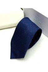 Cà vạt lụa TLG bản vừa 206009-1 (Xanh)