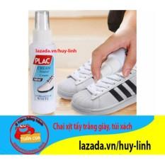 Chai xịt vệ sinh tẩy trắng giày, túi xách tiện dụng