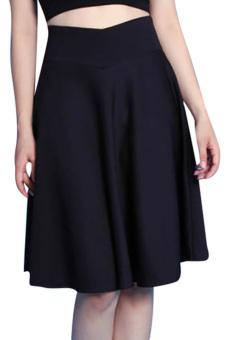 Chân váy lưng V có túi đen Beyeu1688 BY4009 (Đen)