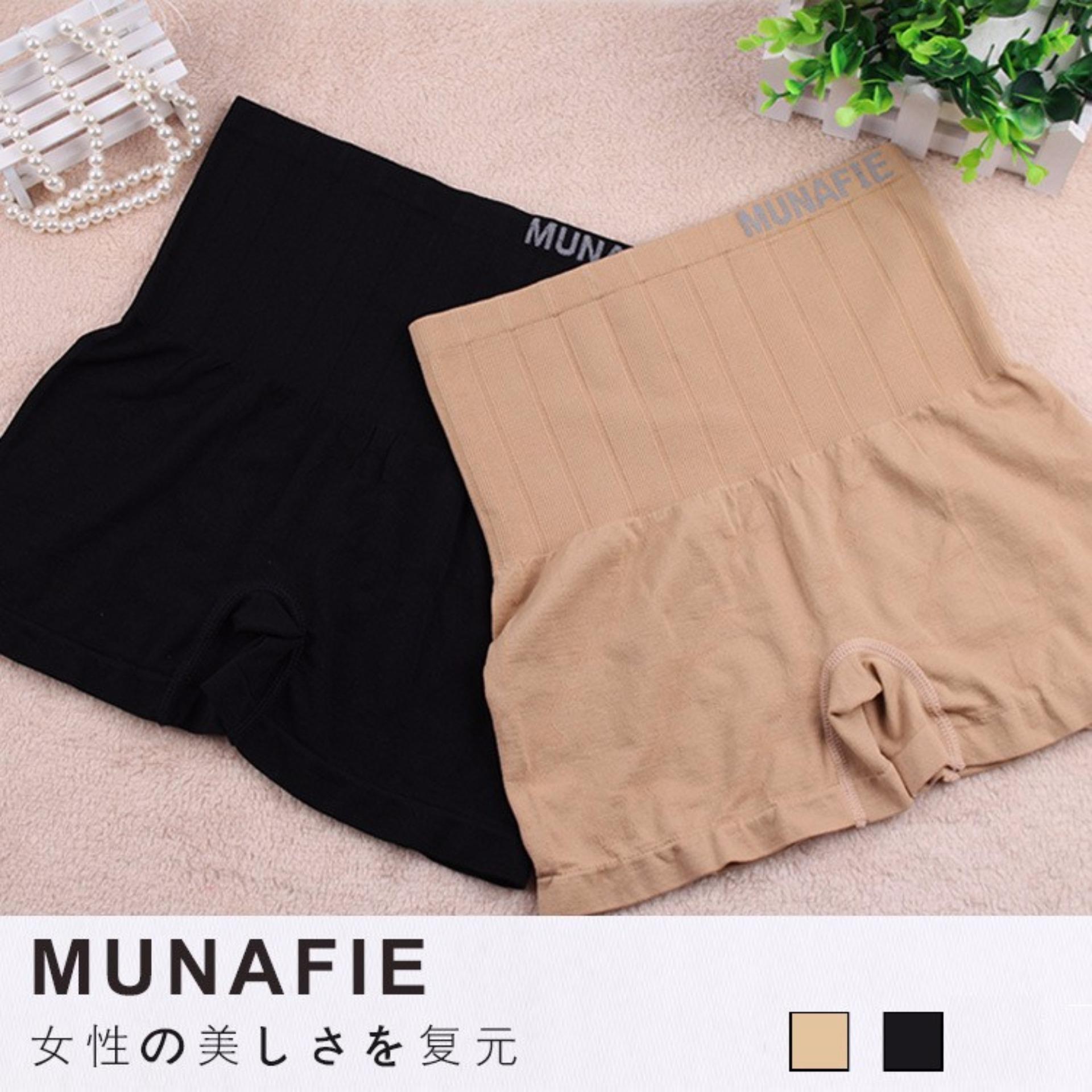 Combo 02 quần mặc trong váy gen nịt bụng MUNAFIE hàng xuất Nhật (one size)
