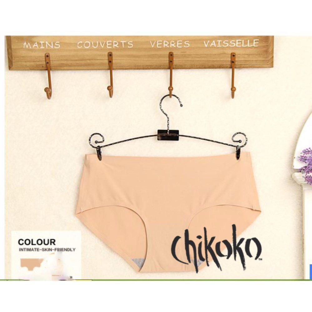 Địa Chỉ Bán Combo 05 quần lót đúc su mát có size cho người mập CHIKOKO (Màu da)