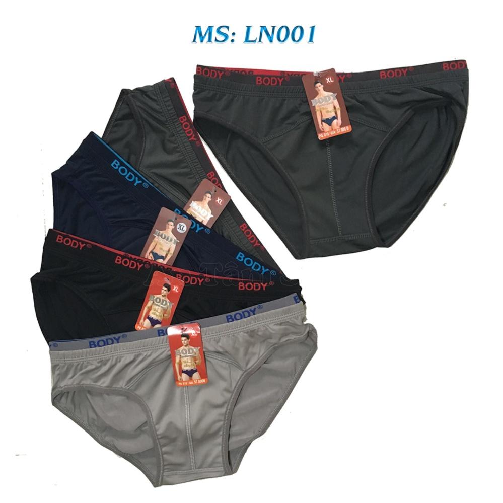 Combo 05 quần lót nam Body