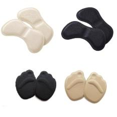 Combo 1 Cặp lót mũi giầy loại vải dành cho giày rộng + 1 Cặp Lót Gót Giầy Cao Gót KimPhat (Da)
