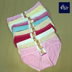 [MIỄN PHÍ VẬN CHUYỂN HCM] Combo 10 quần lót nữ mịn màng – AIR FL501 – size to