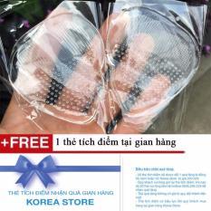 Combo 2 Bộ 2 miếng lót mũi giày silicon + Tặng kèm 1 thẻ tích điểm tại gian hàng KoreaStore