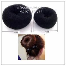 Combo 2 cột búi tròn tóc donut