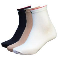Combo 3 đôi tất vớ nữ Cotton thời trang DonaKein