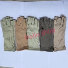 Combo 5 đôi bao tay chống nắng dạng cắt 5 ngón tiện dụng, bảo vệ da tay cho bạn nữ BVF-F1 (Nhiều màu sắc được giao ngẫu nhiên)