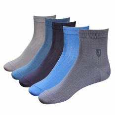 Combo 5 đôi tất vớ nam Cotton công sở DonaKein