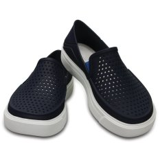 [Premier] Crocs – Giày lười & Giày mọi bé trai – 204026-410 – CitiLane Roka K Navy (Đen) – Authorized By Brand