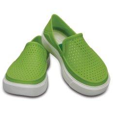 Crocs – Giày lười & Giày mọi bé trai – 204026-59L – CitiLane Roka K Vib Vio (Xanh lá nhạt) – Phân phối chính hãng