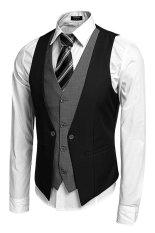 Bảng Giá Cyber Coofandy Men's Formal Business Suit Vest ( Black ) – Intl