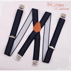 Đai đeo quần chữ X – Đai đeo quần nam cao cấp – Dây yếm quần