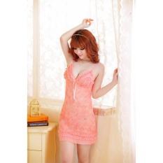 Đầm ngủ hoa tiết đá CDAN10 Kim Phát (hồng)