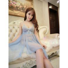 Đầm Ngủ Ren Cánh Hồng (xanh)