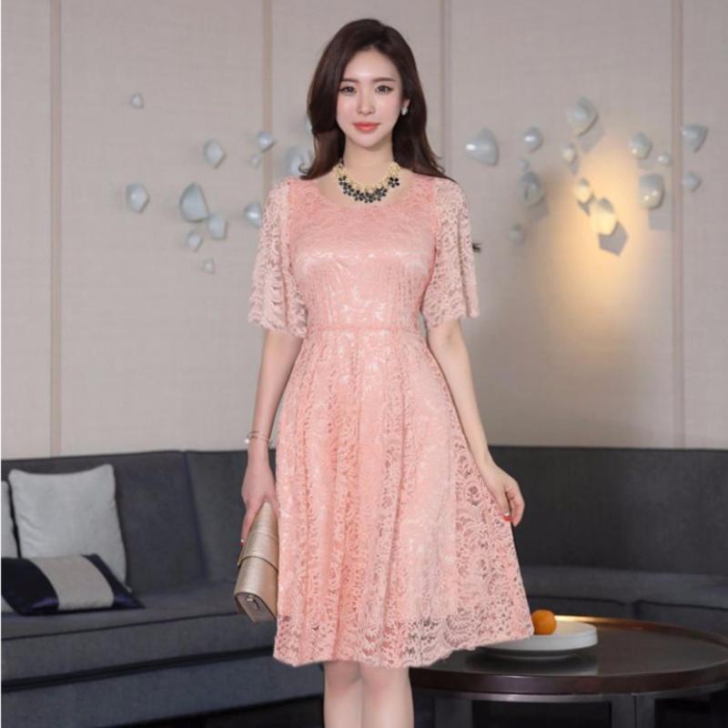 Nơi bán Đầm Ren Xòe Tiểu Thư Bui Nguyen (M,L,XL) - K60