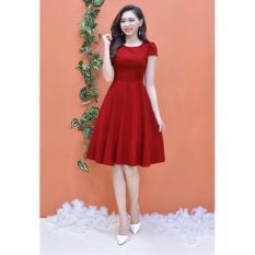 Đầm Xòe Tay Con Dễ Thương TAMV2483