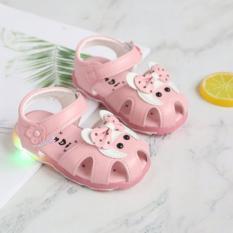 Dép sandals chú cừu cute có đèn