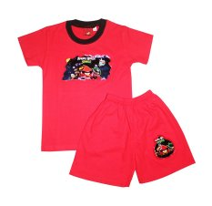 Đồ bộ bé trai 1- 5 tuổi (Đỏ)