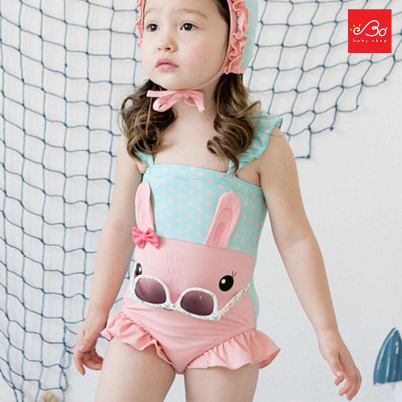Nơi bán Đồ bơi bé gái thỏ xuất Hàn 130