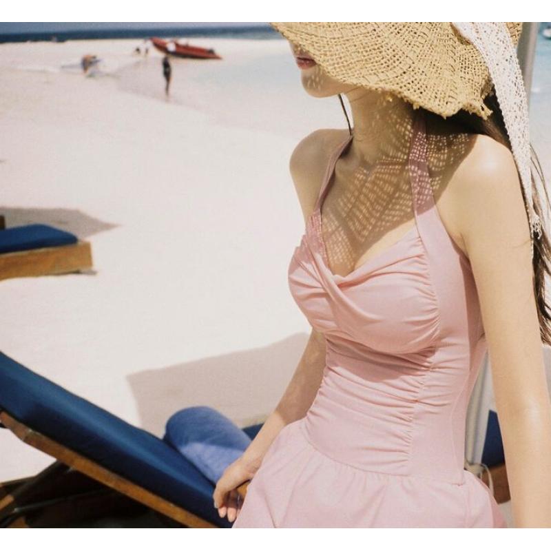 Nơi bán Đồ Bơi Tôn Dáng Dịu Dàng Nữ Tính (Hồng)