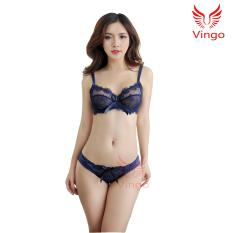 Đồ lót nữ ren họa tiết cánh sen có gọng không đệm gợi cảm Việt Nam