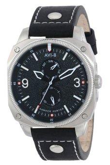 Đồng hồ nam dây da AVI-8 AV-4010-02 (Đen)