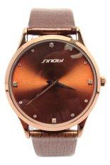 Đồng hồ nam dây da Sinobi TP001 (Nâu)