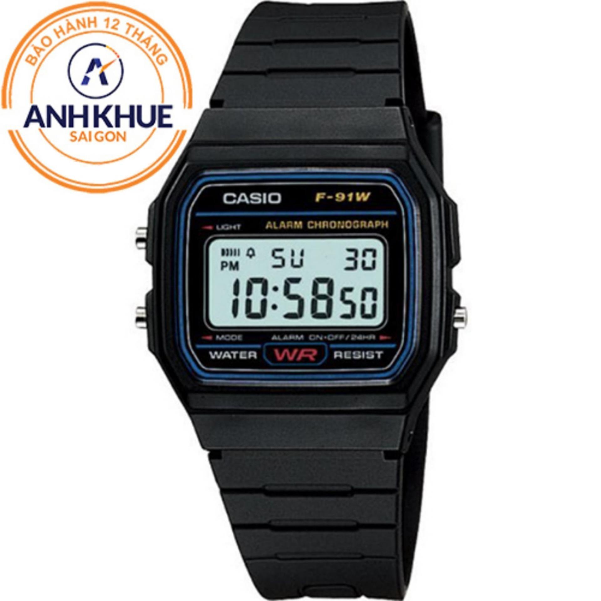So Sánh Giá Đồng hồ nam dây nhựa Casio DM431 (Đen)