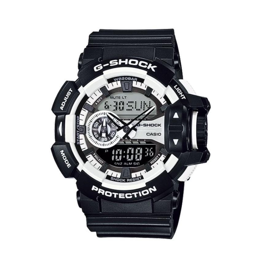 Đồng hồ nam dây nhựa Casio GA-400-1ADR (Đen)