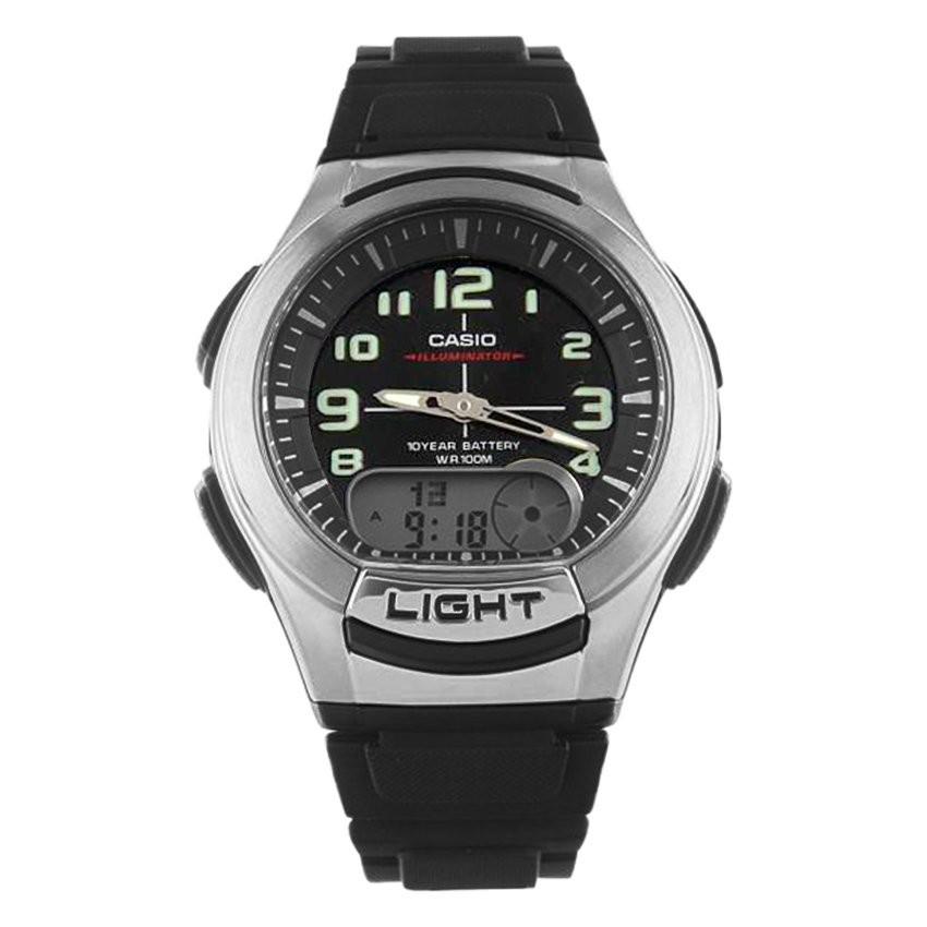 Đồng hồ nam dây nhựa CasioAQ-180W-1BVDF (Đen)