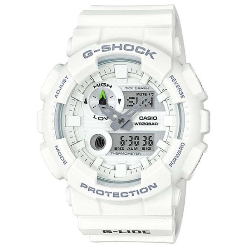 Đồng hồ nam dây resin Casio GAX-100A-7ADR (Trắng)