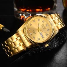 Cách mua Đồng hồ nam dây thép không gỉ Bosck Japan B01 (Vàng)