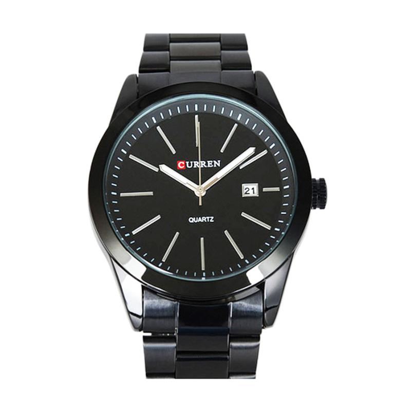 Nơi bán Đồng hồ nam dây thép không gỉ Curren 80K1N91 (Đen)