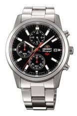 Đồng hồ nam dây thép không gỉ Orient Quazt FKU00002B0 (Bạc)