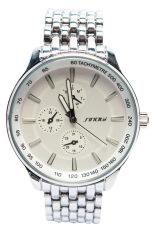 Đồng hồ nam dây thép Sinobi AC7657GB (Trắng)