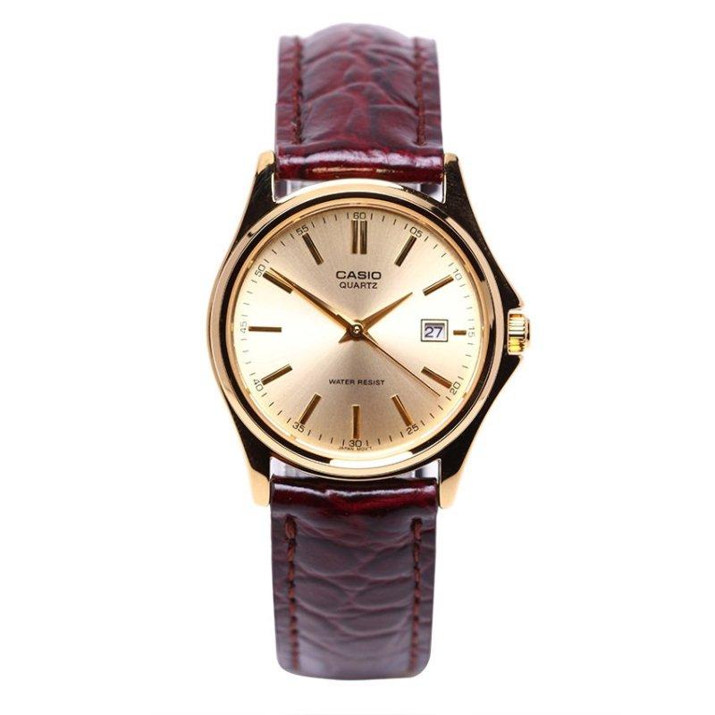 Nơi bán Đồng hồ nữ dây da Casio LTP-1183Q-9ADF (Nâu)