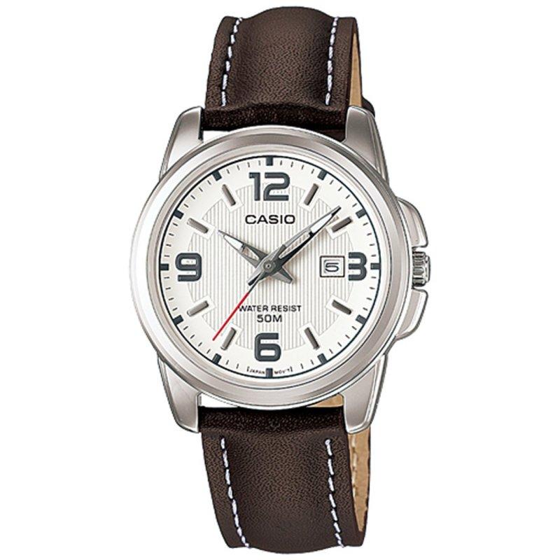 Nơi bán Đồng hồ nữ dây da Casio LTP-1314L-7A (Nâu)