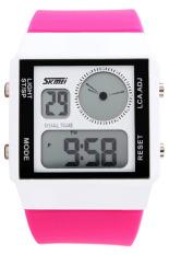 Đồng hồ nữ dây nhựa SKMEI 0841 (Hồng)