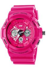 Đồng hồ nữ dây nhựa SKMEI Sport Watch 0966 (Hồng)