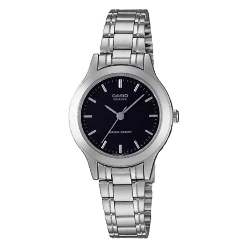 Đồng hồ nữ dây thép không gỉ Casio LTP-1128A-1ARDF (Bạc)