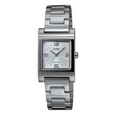 Đồng hồ nữ dây thép không gỉ Casio LTP-1237D-7ADF (Bạc)