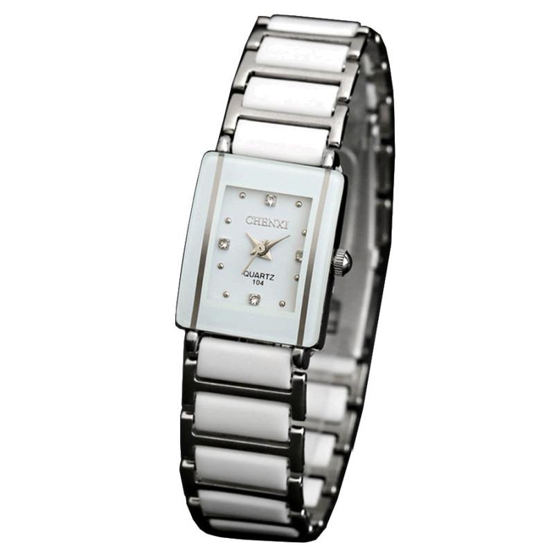Nơi bán Đồng hồ nữ dây thép không gỉ Chenxi 104 (Trắng)