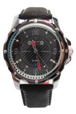 Đồng hồ thể thao nam dây cao su Sinobi AC6749BN (Đen)