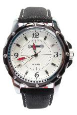 Đồng hồ thể thao nam dây cao su Sinobi AC6749BN (Trắng)