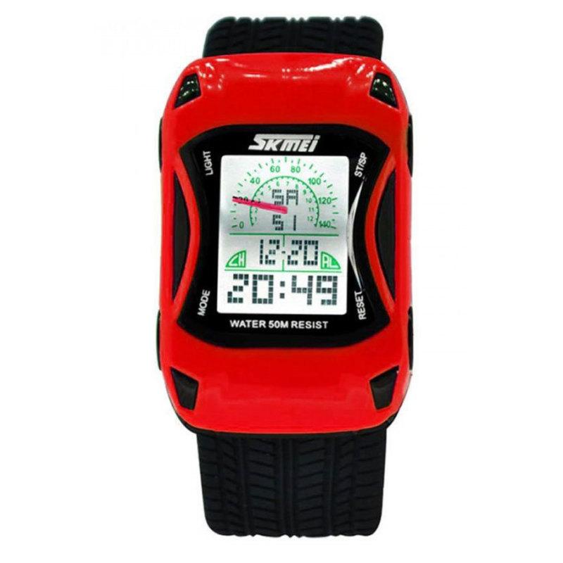 Đồng hồ trẻ em dây cao su Skmei 0961B (Vàng chanh) bán chạy